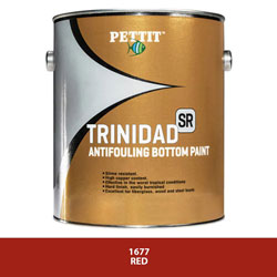 Pettit Trinidad SR Antifouling Bottom Paint with Irgarol - Red