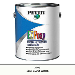 Pettit Easypoxy (EZPoxy) Topside Paint - Semi-Gloss White - Gallon