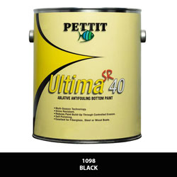 Pettit Ultima SR-40 Antifouling Bottom Paint - Black