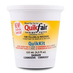 System Three SilverTip QuikFair Fairing Putty - 4.5 Ounce 2-Part Kit