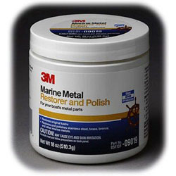 3M Marine Metal Restorer & Polish - Paste