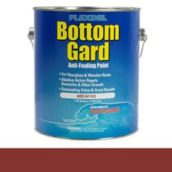 Aquagard Flexdel Bottom Gard Antifouling Paint - Red
