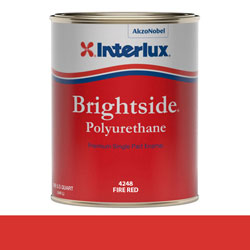 Interlux Brightside Polyurethane - Quart - Fire Red