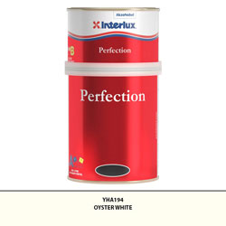Interlux Perfection Topside Paint, 2-Part, Quart - Oyster White