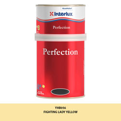 Interlux Perfection Topside Paint - Fighting Lady Yellow