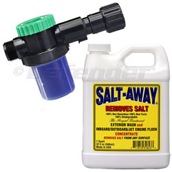 Salt-Away Combo Kit - Quart of Concentrate with Mixing Valve