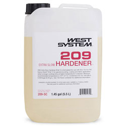 West System 209 Extra Slow Hardener - 185.6 Ounces