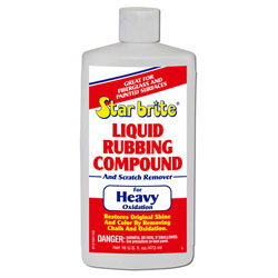 Star brite Liquid Rubbing Compound and Scratch Remover