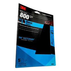 3M Marine Imperial Wet or Dry Sandpaper Sheets