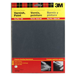 3M Marine Wet or Dry Silicon Carbide Sandpaper