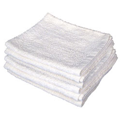 Plezall Commercial Grade Hemmed Terry Cloth Towels