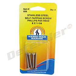 Handi-Man Self-Tapping Screw - Phillips Pan Head