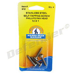 Handi-Man Self-Tapping Screws - Phillips Pan Head