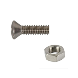 Handi-Man Machine Screw - Phillips Oval Head with Nut