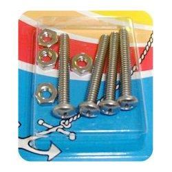 Handi-Man Machine Screws with Nuts - Phillips Pan Head