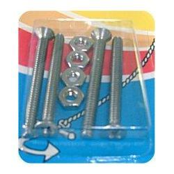Handi-Man Machine Screw with Nut - Phillips Flat Head