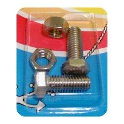 Handi-Man Machine Screw with Nut - Hex Head