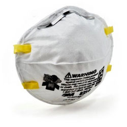 3M Marine 8210 Disposable Particulate Respirators