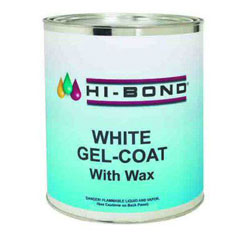 Hi-Bond White Gel Coat with Wax