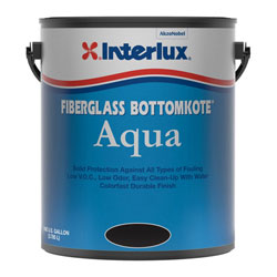 Interlux Fiberglass Bottomkote Aqua Antifouling Bottom Paint - Gallon