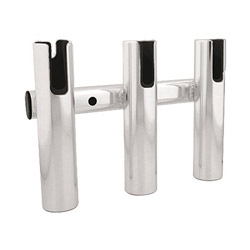 Taco Marine Aluminum 3-Pole Fishing Rod Storage Rack