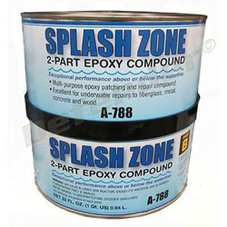 Pettit A-788 Splash Zone Epoxy Repair Compound - 1/2 Gallon