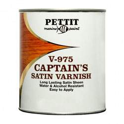 Pettit Z-Spar Captain's Satin Sheen Varnish V-975