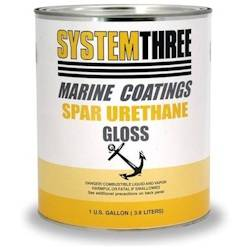 System Three Spar Urethane Varnish - Gloss Gallon