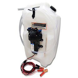 Jabsco Self-Contained Flat Tank Oil Changing System