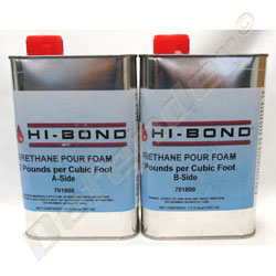 Hi-Bond 2-Part Pour In Place Liquid Urethane Closed Cell Foam - 2 Quart