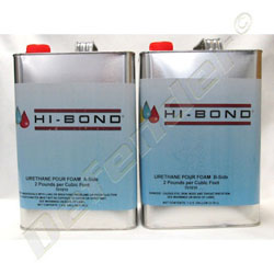 Hi-Bond 2-Part Pour In Place Liquid Urethane Closed Cell Foam - 2 Gallon