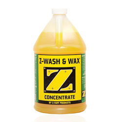 Z-Tuff Products Z-Soap Wash & Wax - Gallon