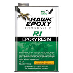 Sea Hawk Epoxy Resin - Size 1 / (1) Quart
