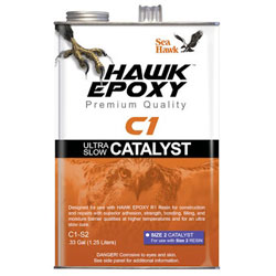 Sea Hawk C1 Ultra Slow Catalyst - Size 2 / (0.33) Gallon