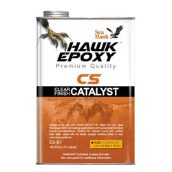 Sea Hawk C5 Clear Finish Catalyst - Size 1 / (0.66) Pint