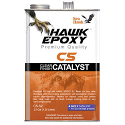 Sea Hawk C5 Clear Finish Catalyst - Size 2 / (0.33) Gallon