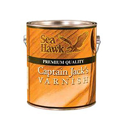 Sea Hawk Premium High Gloss Captain Jack's Varnish - Pint