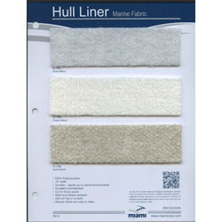 Redrum Hull Liner Fabric Sample Card