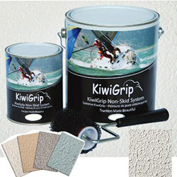 Kiwi Grip Non-Skid Deck System with Special Roller Cover