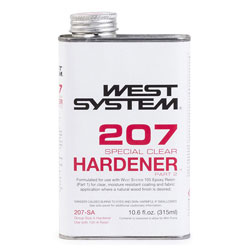 West System 207 Special Clear Hardener - 0.66 Pint