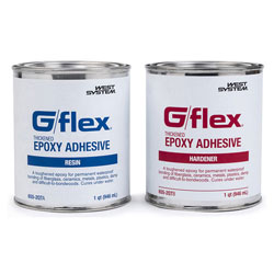 West Systems G/Flex Thickened Epoxy Adhesive - 64 Ounce