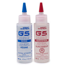 West Systems G/5 Five-Minute Adhesive - 8 Ounce