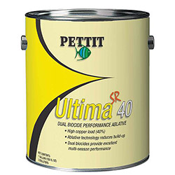 Pettit Ultima SR-40 Antifouling Bottom Paint with PTFE