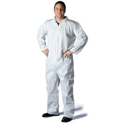Disposable Paint Suit / Coveralls with Collar (No Hood)