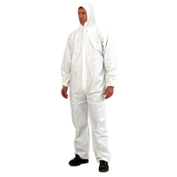 Disposable Paint Suit / Coveralls with Hood