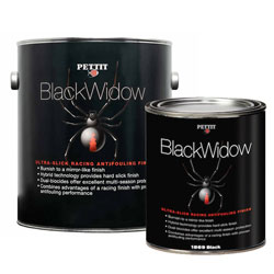 Pettit Black Widow Antifouling Racing Paint
