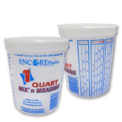 Mix N' Measure Mixing Cup / Container - Quart