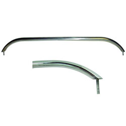 White Water Stainless Steel Oval Grab Rail