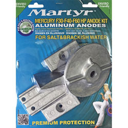 Mercury Sacrificial Anode Kit - F30/F40/F60 HP