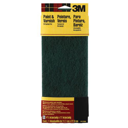 3M Marine Synthetic Abrasive Pad - Course Green